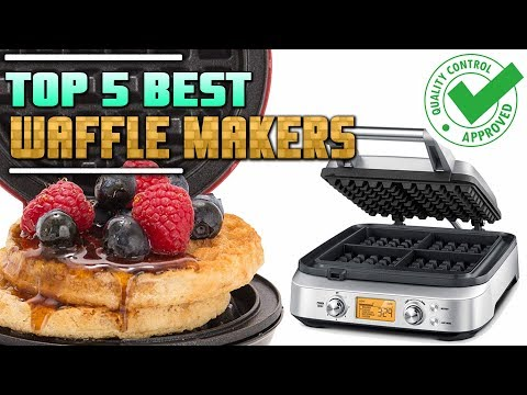 Best Waffle Maker Review   Top 5 Waffle Makers On The Market