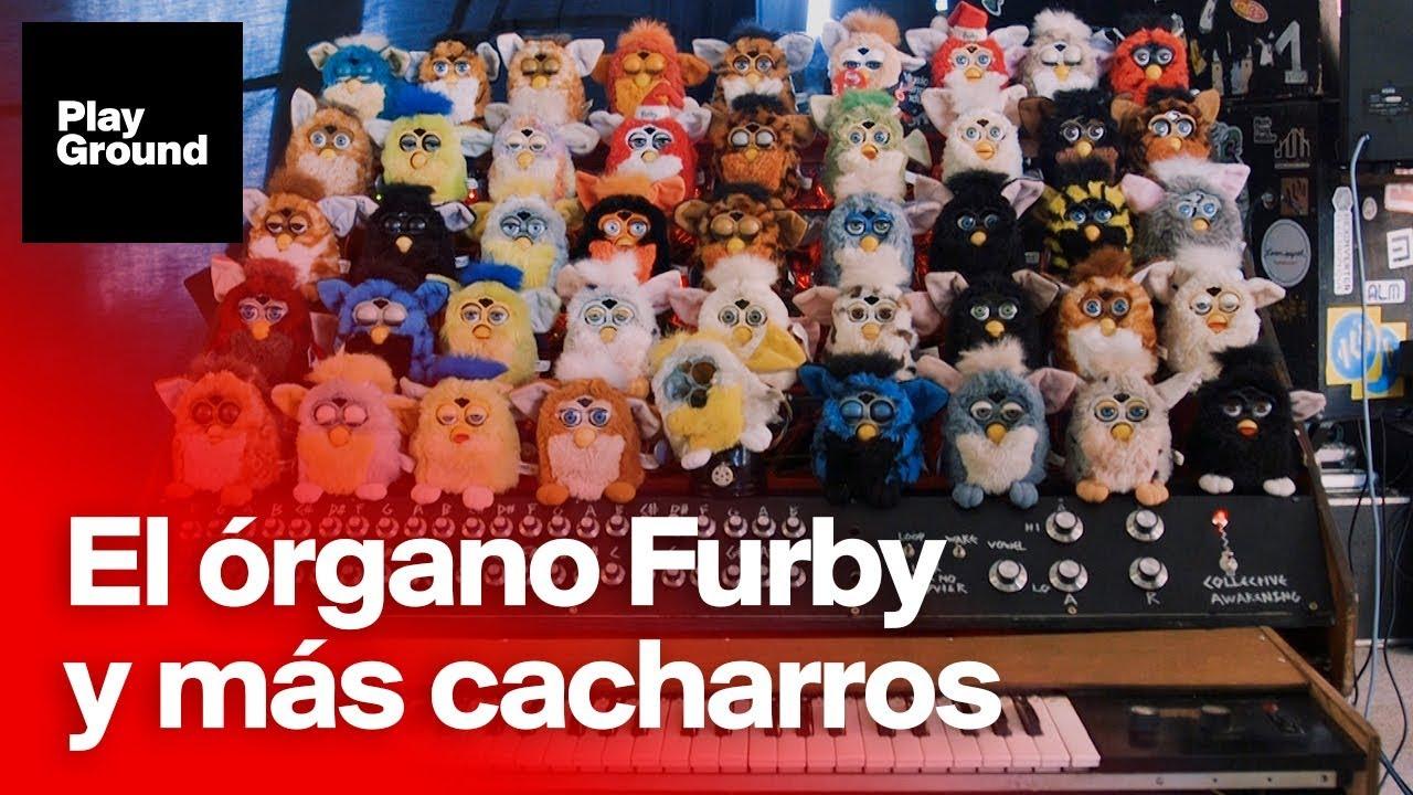 El órgano Furby, otro genial instrumento de Sam Battle