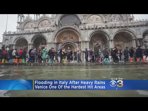 Flooding In Italy Continues After Heavy Rains