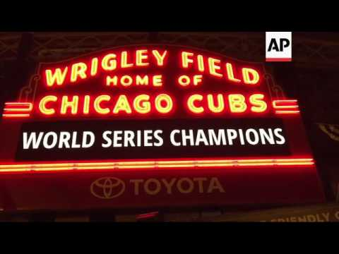 Chicago celebrates Cubs World Series championship