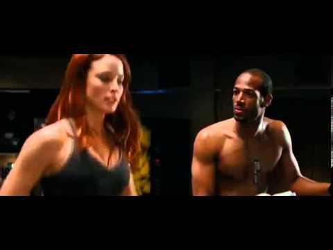 Scarlett and Ripcord in G.I. Joe: The Rise of Cobra