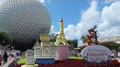 Our First EPCOT Food & Wine Festival Trip Of 2017 | Booth Locations, Menus & Food Reviews