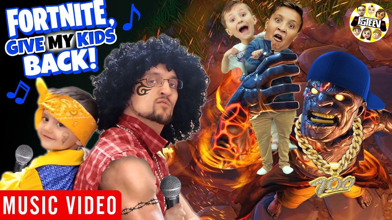 FORTNITE BETTER GIVE ME MY KIDS BACK (FGTEEV Music Video)