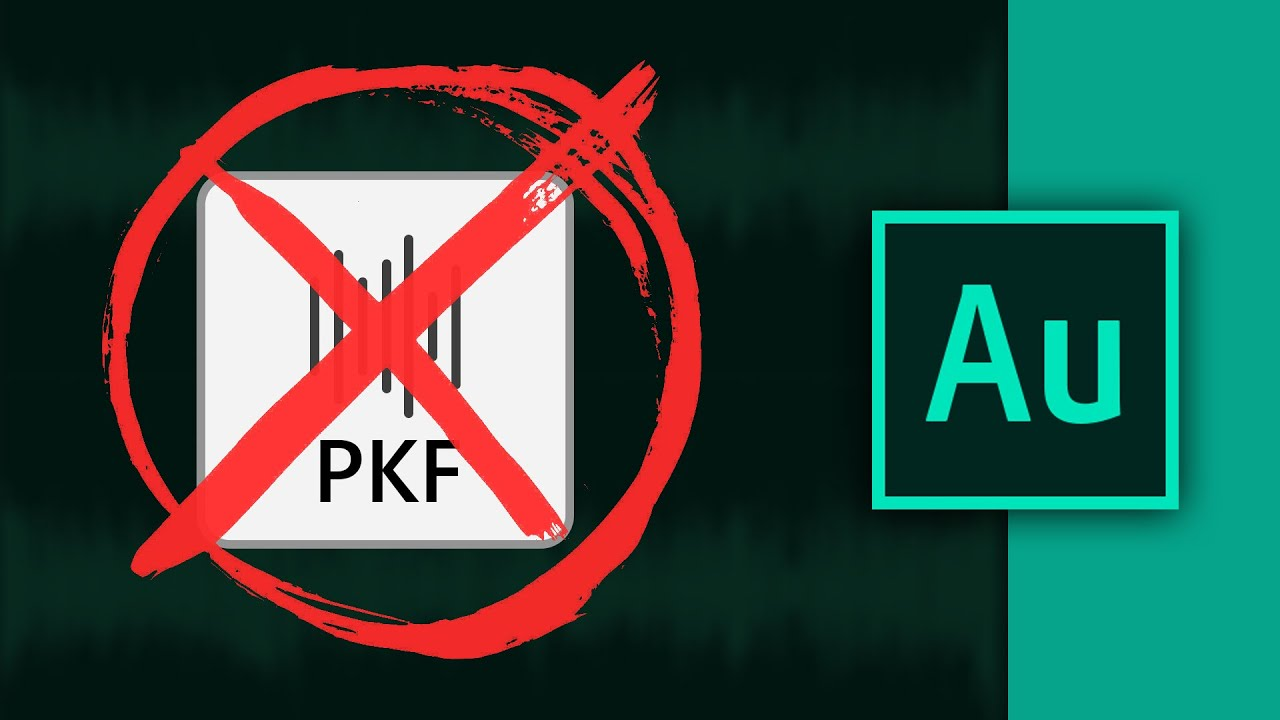 How to Disable Automatically Save PKF Files in Adobe Audition