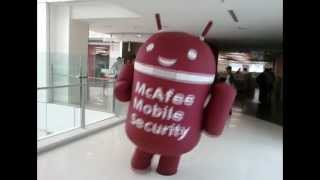 mcAfee Mobile Security  Launch @ Airtel Campus