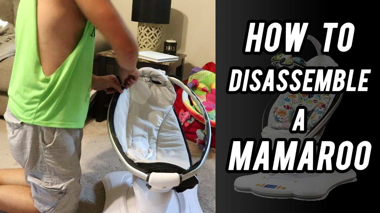 How To Disassemble A Mamaroo By 4moms Youtube