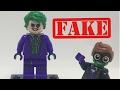 FAKE Lego Joker Minifigure Review