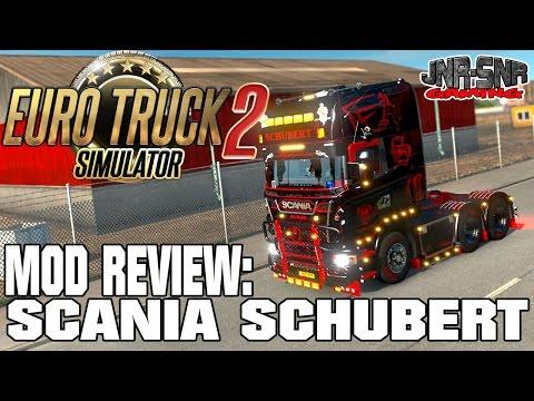 ETS 2 MODS REVIEW | Scania Schubert | EURO TRUCK SIMULATOR 2 MODS REVIEW