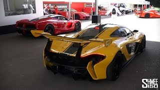 Dreamland for supercar lovers, as the cars of the Michelin Supercar...