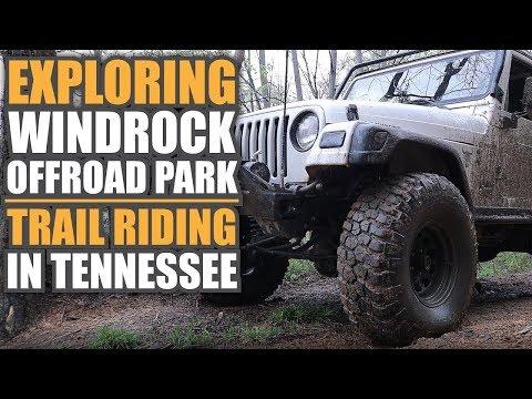 Exploring Windrock Offroad Park   That Jeep Adventure Trail Riding Tennessee   JLU Rubicon JK TJ