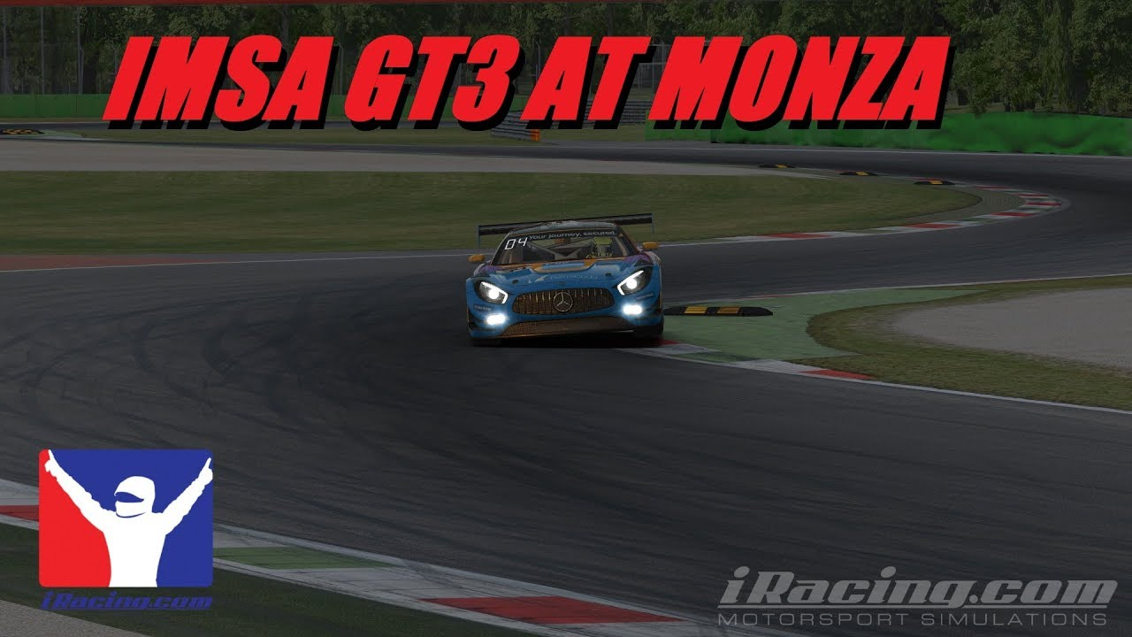 IRacing IMSA GT3 At Monza Live (With New Gloves)