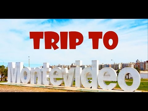 TRIP TO MONTEVIDEO - URUGUAY - SOUTH AMERICA