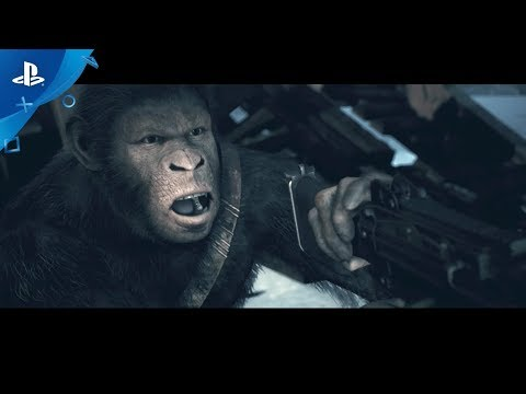 Planet of the Apes: Last Frontier - Launch Announcement Trailer | PS4