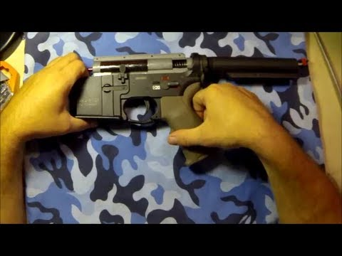 Airsoft VFC HK416 CQB Gearbox Spring Change Spectre V2 Mosfet