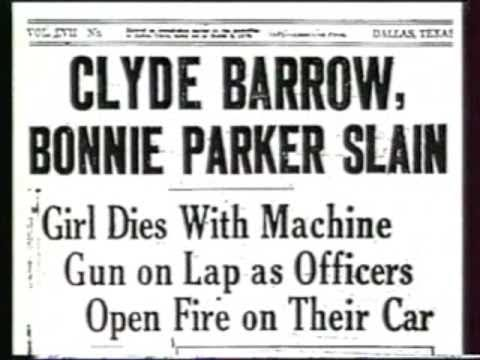 Written by Bonnie Parker /  OUTLAWS - Billy the Kid and Clyde Barrow