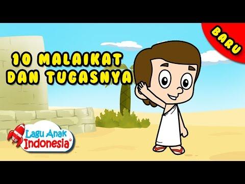 Lagu Anak Islami -  Sepuluh Malaikat - Lagu Anak Indonesia