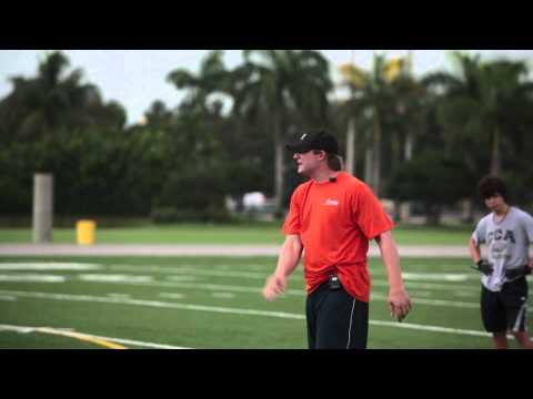 Chad Pennington-The Quarterback- Pt. 1 Upper Body Fundamentals