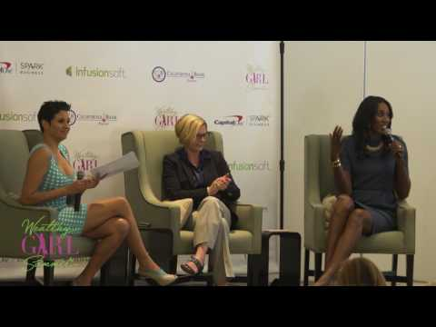 Wealthy Girl Summit: Alicia Dunams Interview with Bridgette Chambers and Lisa Leslie