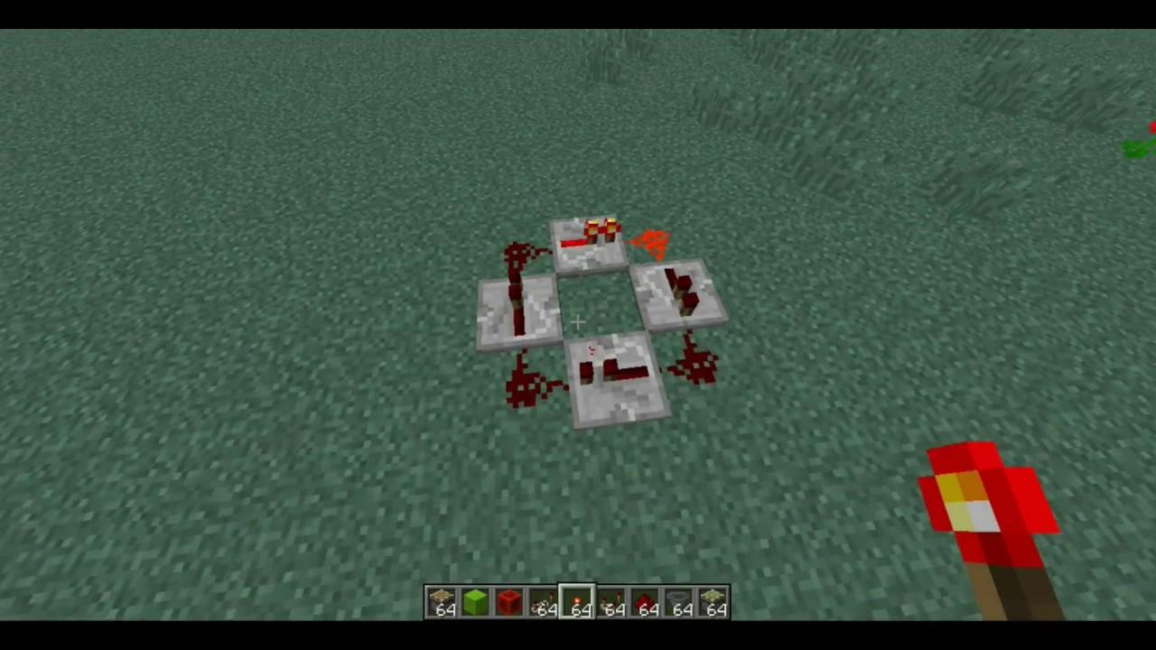 How To Make A Redstone Repeater Clock Minecraft How Do You Make A