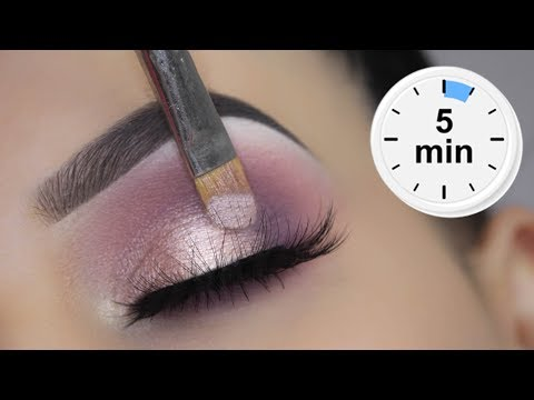 EASY 5 MINUTE Spring Eye Makeup Tutorial | $6 Dollar Palette!!