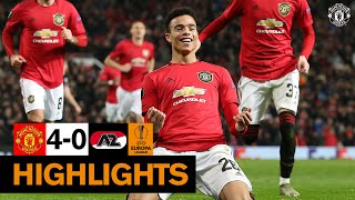 Highlights   Manchester United 4 0 Az Alkmaar   Uefa Europa League
