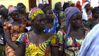Nigerian President Meets Freed Chibok Girls
