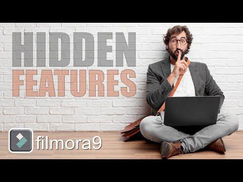 Filmora Hidden Features