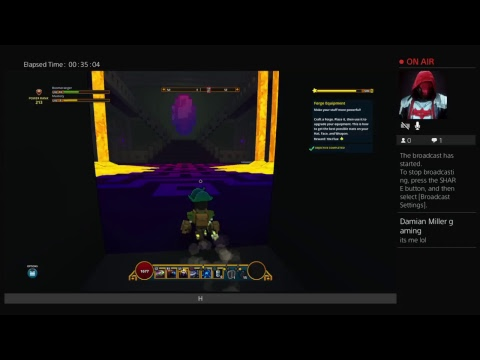 Trove with damian Miller gameing