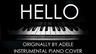 Adele - Hello | Instrumental Piano Cover (Karaoke with Lyrics, Download Available)