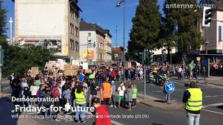 Fridays for Future in Witten am (20.09.2019)