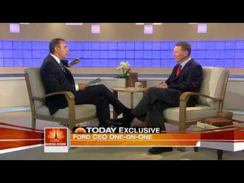 Matt Lauer Interview with Ford C.E.O June 8th