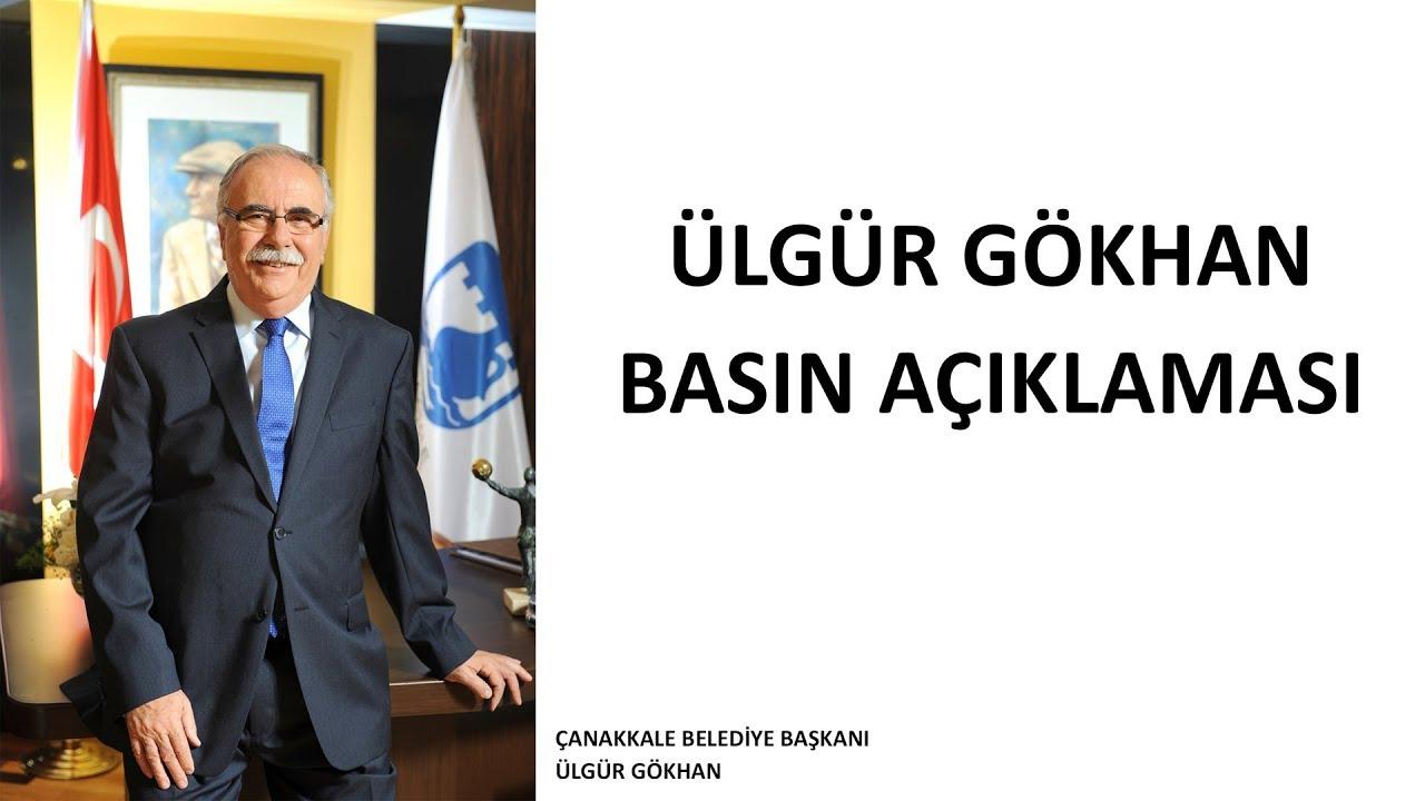 Başkan Ülgür Gökhan'ın Basın Toplantısı