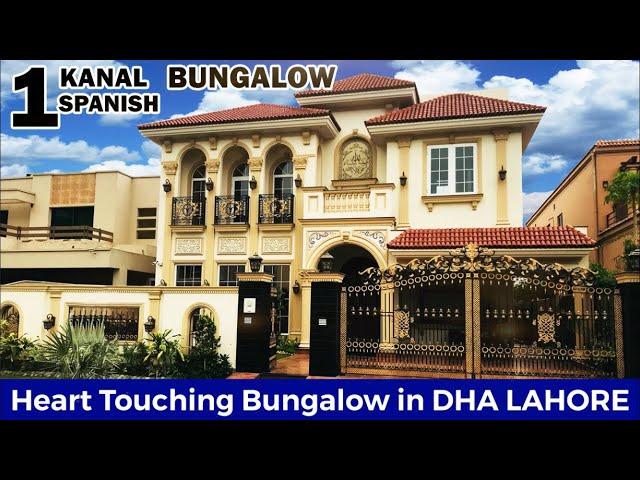 1 Kanal Royal Spanish Bungalow | DHA Lahore Spanish Homes | Luxury Home Interiors | RAFI & SONS