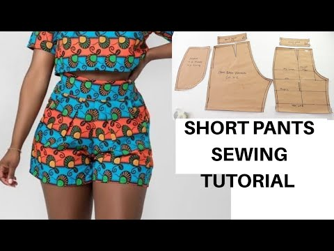 Download How to Cut and Sew a Short Pant | Summer Sewing Ideas Project  | Easy DIY // How to Cut and Sew