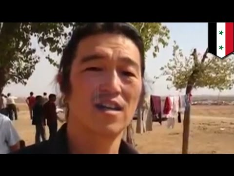 Protect Journalists: ISIS hostage Kenji Goto was sending a message by blinking