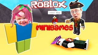 Why Does This Keep Happening? Roblox MiniGames Family Fun - Googaloo Gaming