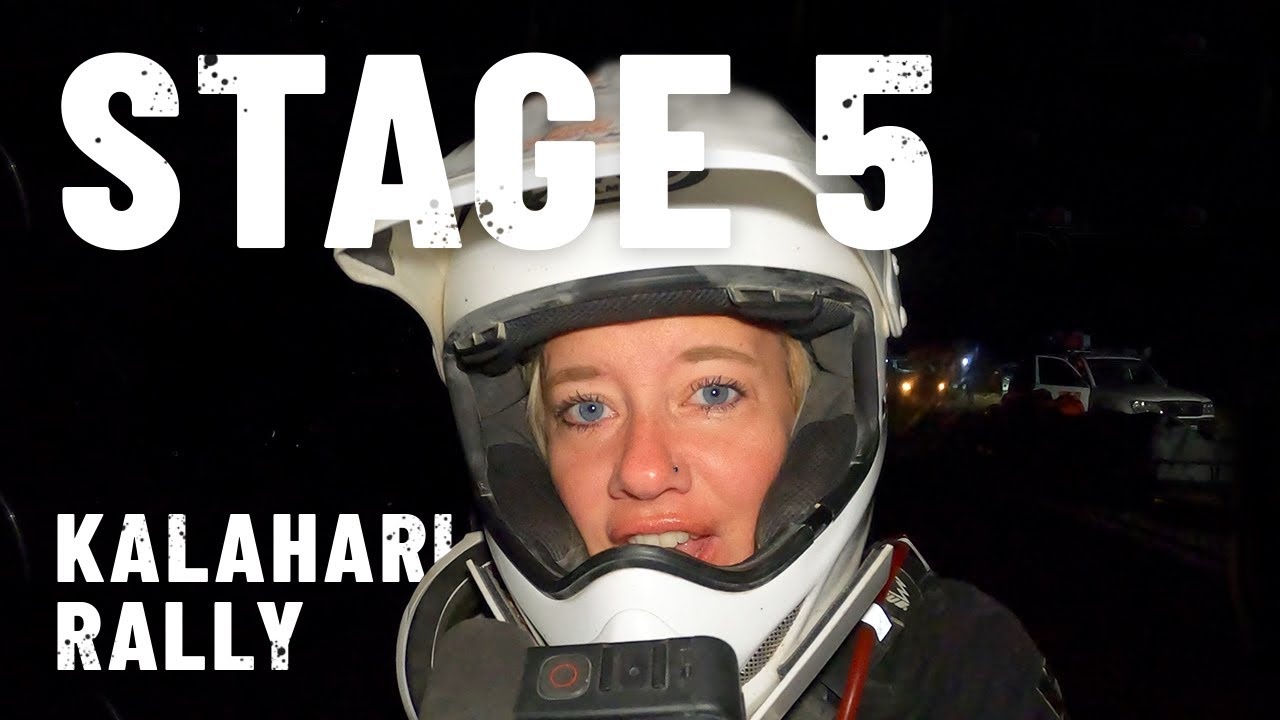 Download PROBLEMS on the longest stage.. Itchy Boots rides Kalahari Rally - Stage 5