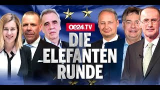 Fellner! Live: Elefantenrunde zur EU-Wahl