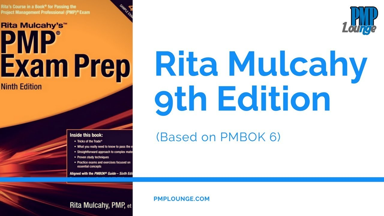 Rita Mulcahy 9th Edition Out Based On Pmbok Guide 6th Edition
