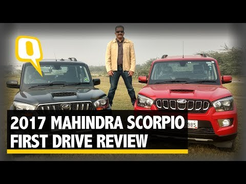2017 Mahindra Scorpio First Drive Review: What's New? | The Quint