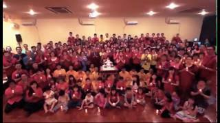 [祝賀師尊72歲仙壽影片] 印尼 - 圓信堂