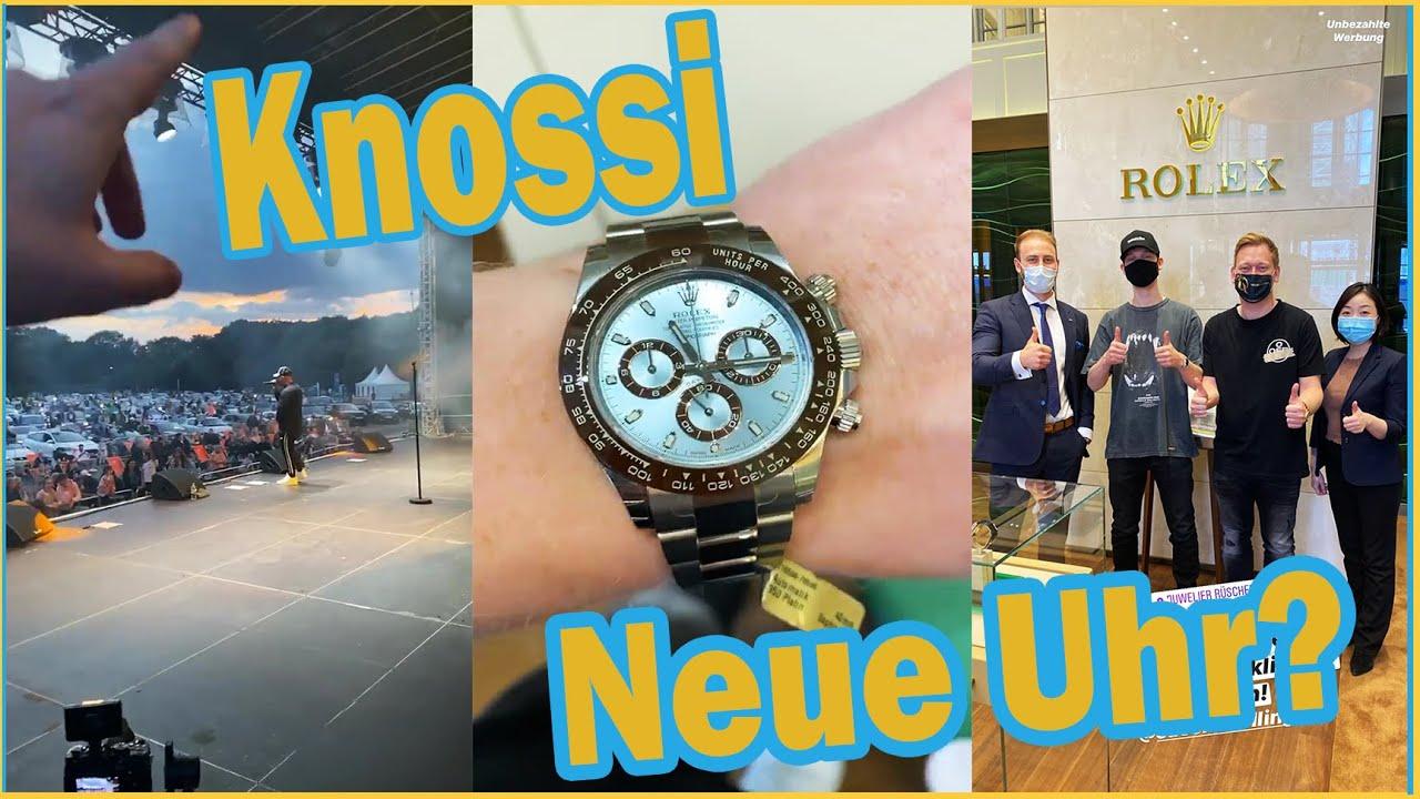 Neue Uhr? Saschas Liveauftritt 😍   Knossi-Stories  