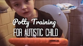 Autism Potty Training Week - Day 1