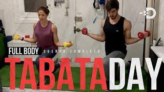 TABATA DAY - CUERPO COMPLETO - CON O SIN PESITAS