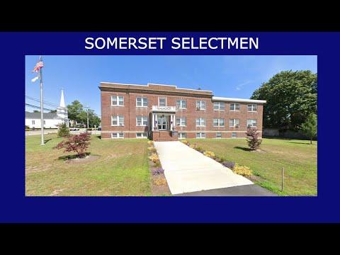 Somerset Board Of Selectmen - November 18, 2020