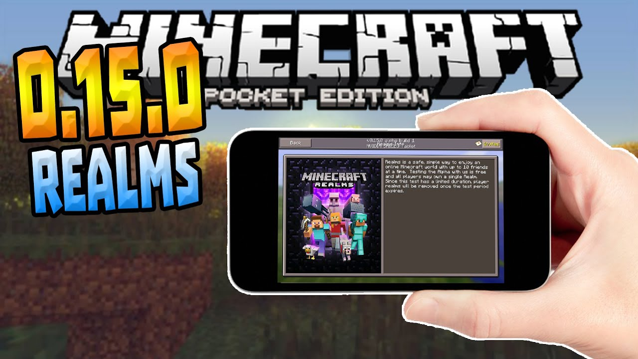 Скачать Minecraft Pocket Edition 0.15.0
