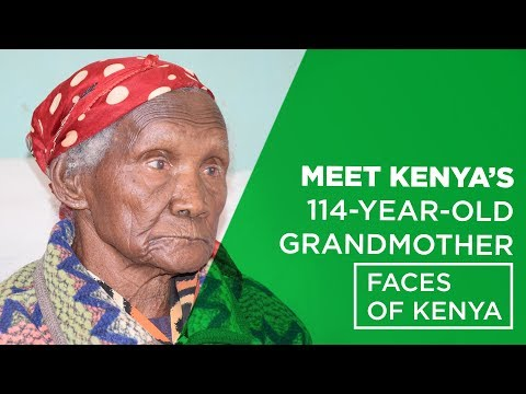 Meet Kenya's 114- Year- Old Grandmother