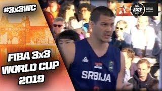 Korea v Serbia | Men's Full Game | FIBA 3x3 World Cup 2019