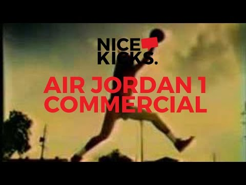 "Air Jordan 1 ""Man Was Not Meant To Fly"" Commercial"