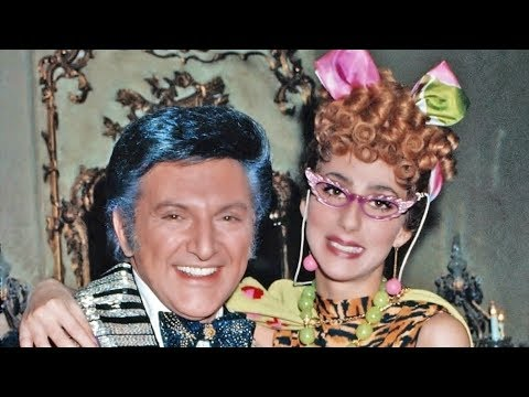 Cher as Laverene visits Liberace at home 1974